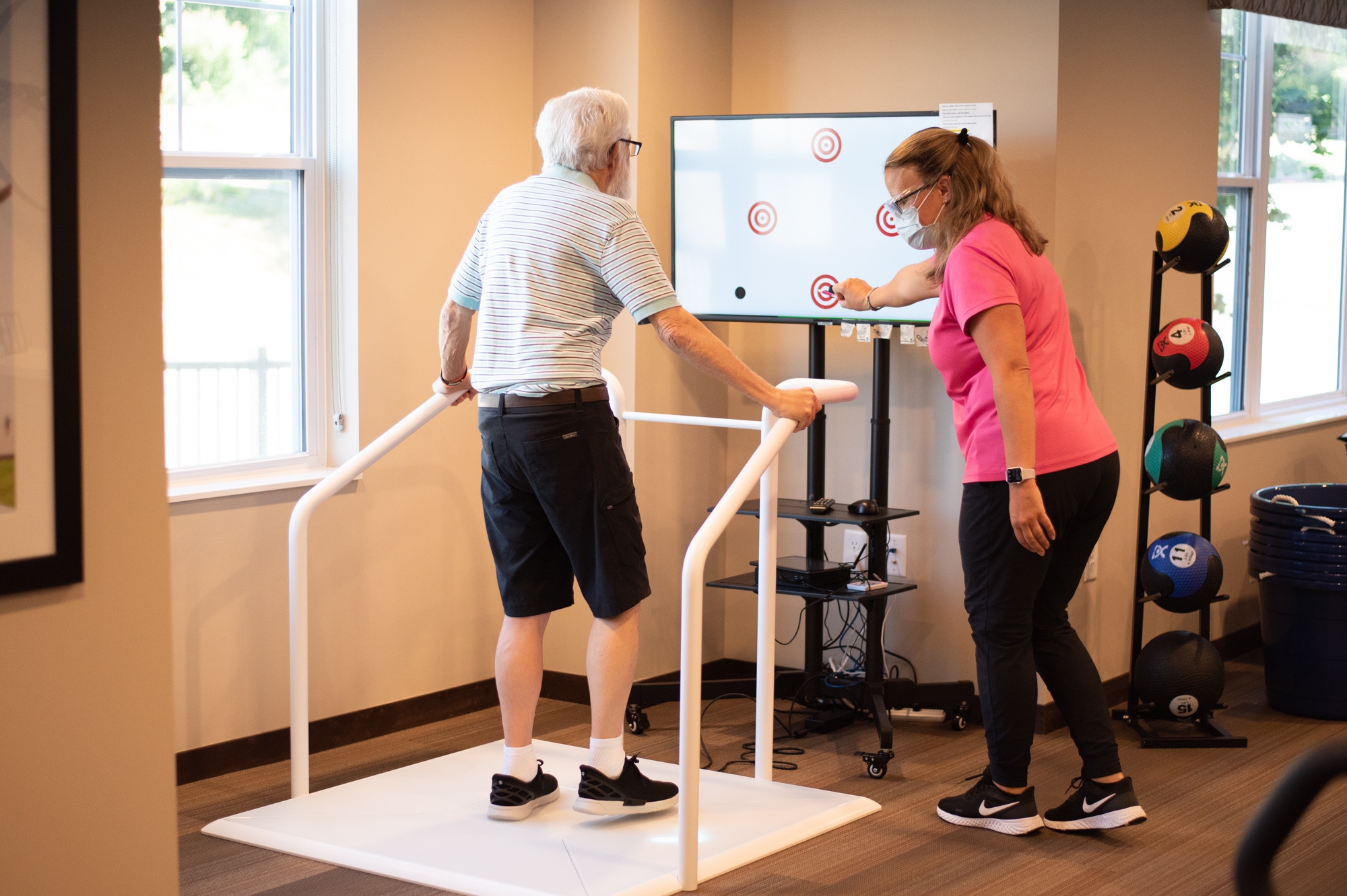 Roger is back on his feet: Parkinson's treatment through exercise