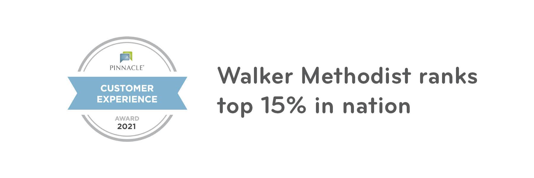 Walker Methodist communities rank top 15% in the nation
