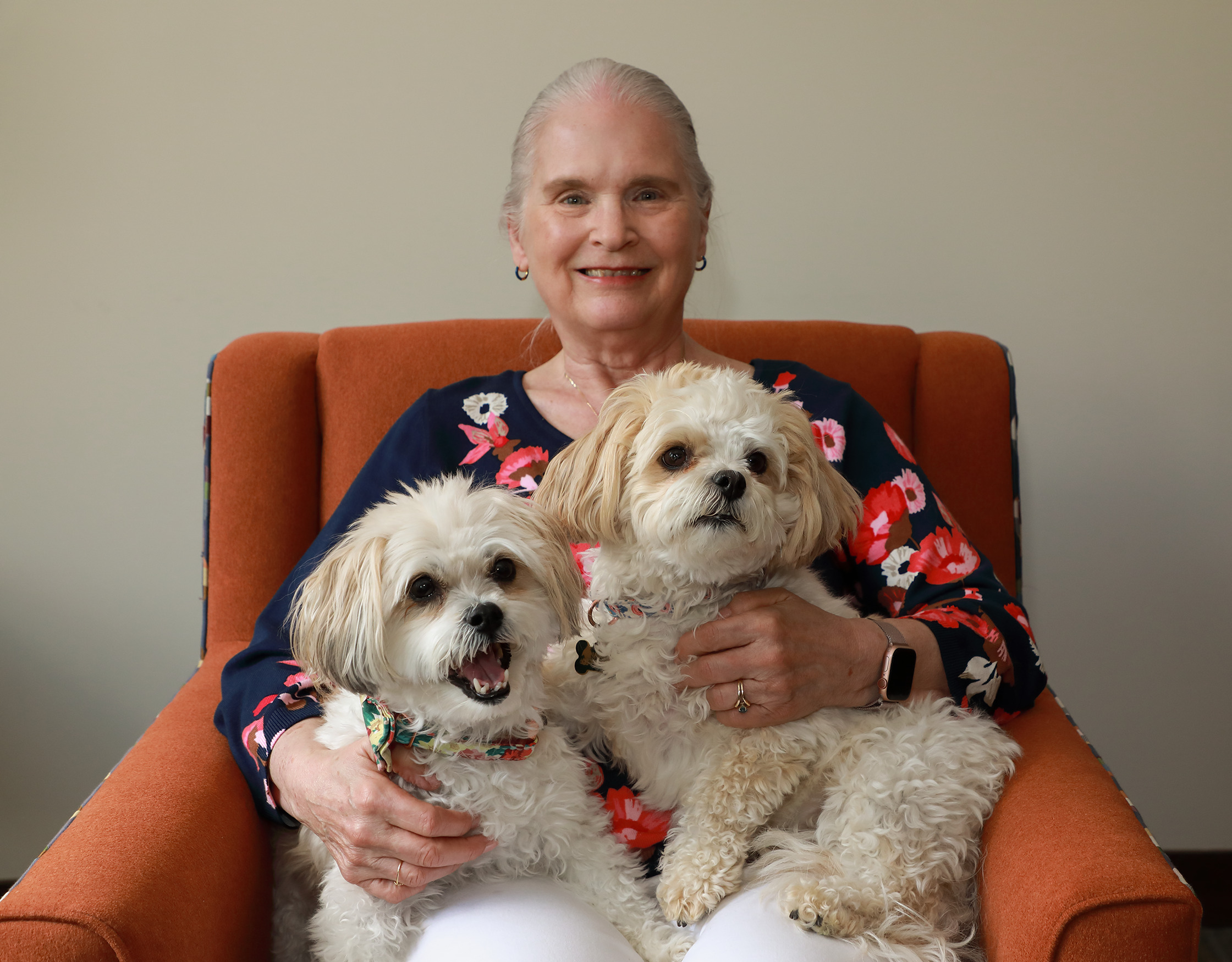 Helen and Annabelle bring joy to their neighbors at Havenwood of Onalaska
