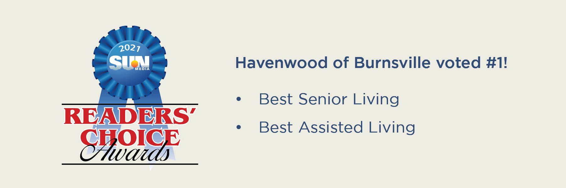 Havenwood of Burnsville voted #1