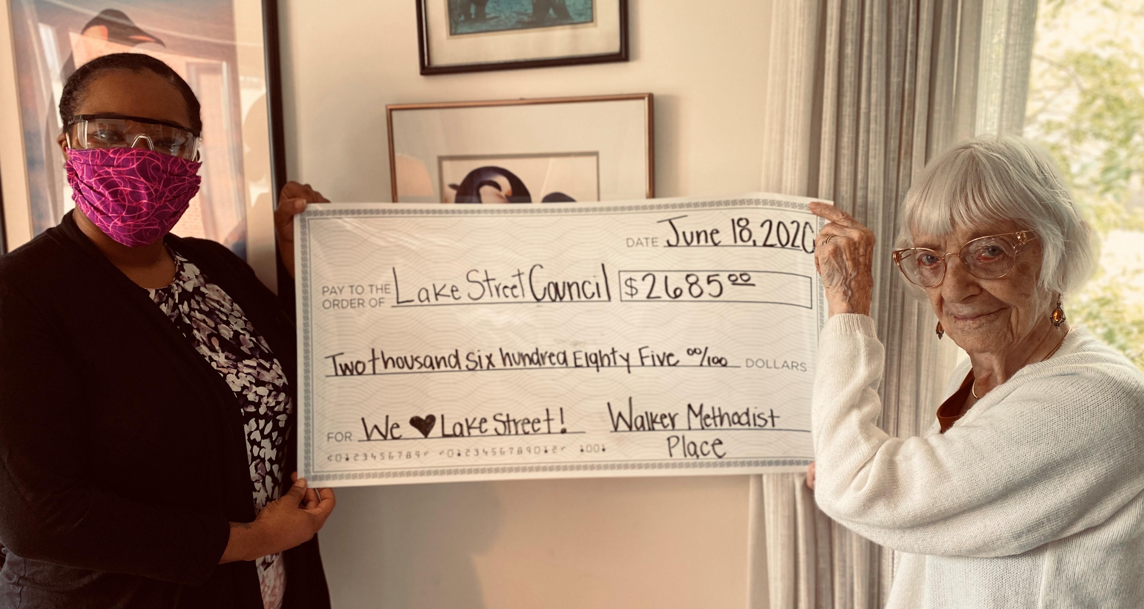 Residents raise more than $2,600 to help Minneapolis