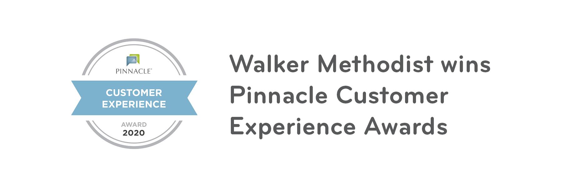Walker Methodist communities receive Pinnacle Customer Experience awards